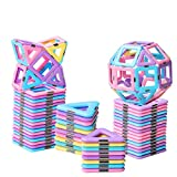 HOMOFY 40PCS Castle Magnetic Blocks - Learning & Development Magnetic Tiles Building Blocks Kids...
