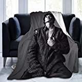 Graslio Caseal Blanket Flannel Blanket air Conditioning Blanket Student Blanket Soft Thermal Printing Blanket Children/Adult Blanket 40x50Inch