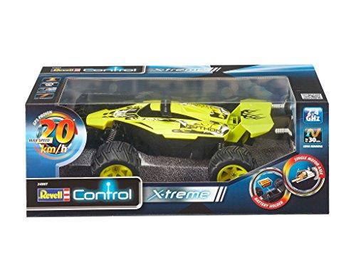 RC Auto kaufen Buggy Bild 4: Revell Control X-treme RC Car - schnelles, sehr robustes ferngesteuertes Auto als Buggy mit 2,4 GHz Fernsteuerung, Batterienbetrieben - Akku kann nachgerüstet werden - PYTHON 24807*