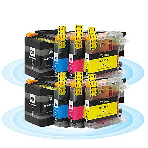 LC129XL BK LC125XLC M Y Cartuchos De Tinta Reemplazo Compatible La Impresora para Brother MFC-J6920DW J6720DW J6520DW 2 Sets