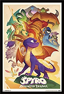 Trends International Spyro Reignited-Classic Wall Poster, 24.25