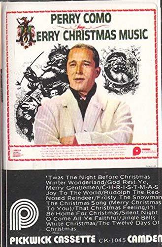 PERRY COMO: Perry Como Sings Merry Christmas Music Cassette Tape