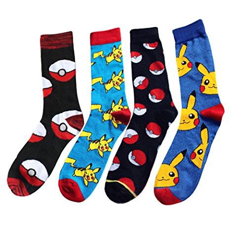 Men's Pokémon Crew Socks Multipack