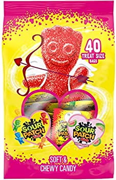 40-Pack Sour Patch Kids Original & Watermelon Candy