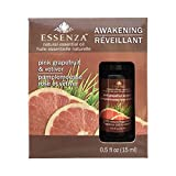 Essenza - Aceite esencial natural de color rosa pomelo y Vetiver - 0.5 oz.