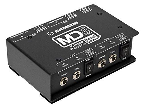 S-Max md2pro - Stereo Passive Direct Box - PROCESSOR