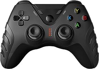 Winnes Manette de jeu sans fil PS3, télécommande pour PC, manette de jeu Bluetooth avec joystick Turbo, boutons compatible...