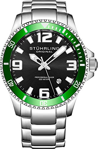 Stuhrling Original Men's 395.33P154 Analog Aquadiver Regatta Champion...