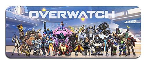 Overwatch großes Mauspad - wasserdicht und rutschfest (1, 800 * 300 * 3MM/31.5 * 11.7 * 0.12inch)
