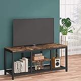 Mobile porta TV, console TV in legno con ripiani aperti, unit di...