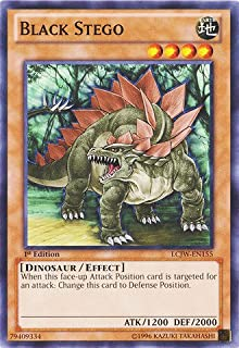 Yu-Gi-Oh! - Black Stego (LCJW-EN155) - Legendary Collection 4: Joey's World - 1st Edition - Common