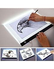LED-lichtbak, A3-lichtbak Ultradunne draagbare tekentafel, USB-netsnoer/led-lichtpad, dimbare helderheid, gebruikt voor kunstenaarstekening Schets Tattoo-animatie