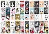 Edition Seidel Set 100 Weihnachtspostkarten (2x50) Weihnachten Karten...