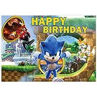Maijoeyy 5x3フィート ビデオゲームテーマ 漫画の背景 1歳の誕生日パーティー 背景 男の子 子供 ティーン ベビーシャワーケーキスマッシュ 写真ブーススタジオ小道具