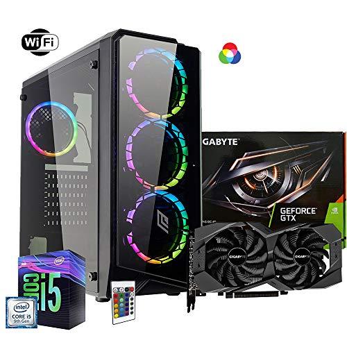 Pc desktop gaming completo Intel i5 7400 3.5ghz / Asus Gtx 1050 Cerberus Gaming 4gb Ddr5/ Ram Ddr4 8gb/ Ssd M.2 120gb + Hdd 1tb / Wifi - Windows 10/ Computer da gaming assemblato/Pc gaming i5