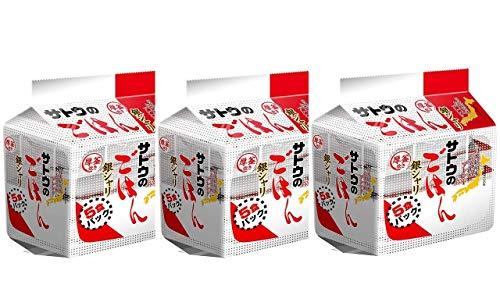 サトウのごはん 銀シャリ 5食パック (200g×5) 3袋
