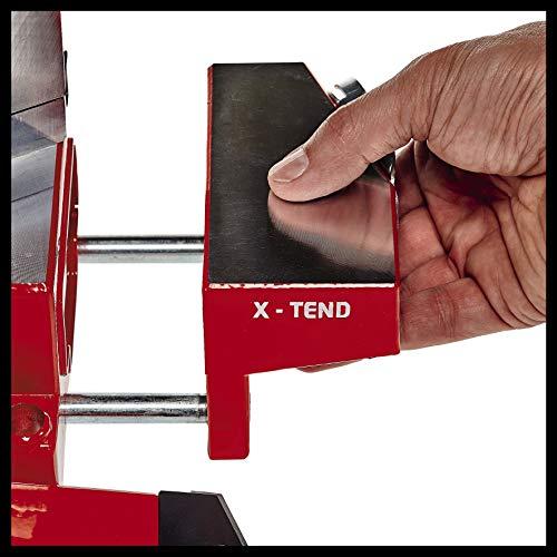 Einhell Akku-Zug-Kapp-Gehrungssäge TE-SM 36/210 Li-Solo Power X-Change (Li-Ion, 36 V, leichtgängige Zugfunktion, Schnittlinien-Laser, ohne Akku und Ladegerät) - 10