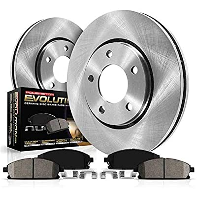 Power Stop KOE3167 Autospecialty By Power Stop 1-Click Daily Driver Brake Kits Front Incl. 13.78 in. OE Replacement Rotors w/Z16 Ceramic Scorched Brake Pads Autospecialty By Power Stop 1-Click Daily Driver Brake Kits