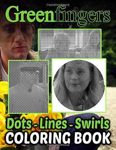 Greenfingers Dots Lines Swirls Coloring Book: Anxiety Swirls-Dots-Diagonal Activity Books For Adults, Teenagers