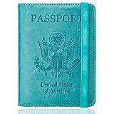 WALNEW RFID Passport Holder Cover Traveling Passport Case