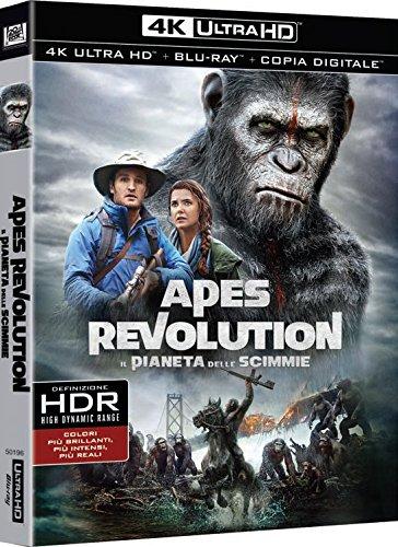 Apes Revolution - Il Pianeta Delle Scimmie (4K+Br)