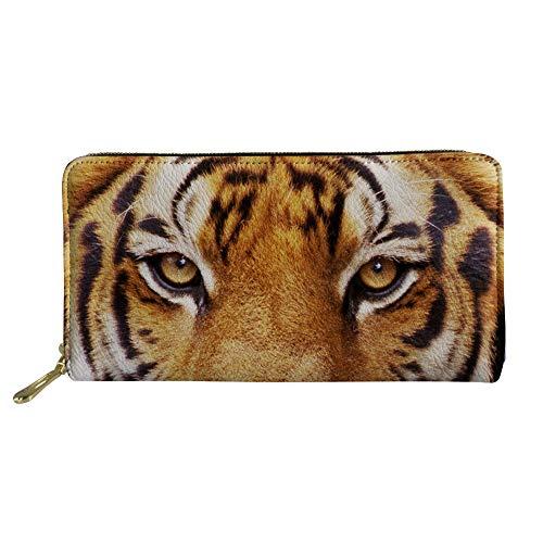 Nopersonality Wallet Boys Teenager Cool Brown Animal Tiger...