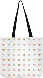Heart Desktop Pc Hearts Mood Canvas Tote Handbag Shoulder Bag Crossbody Bags Purses For Men And Women Shopping Tote