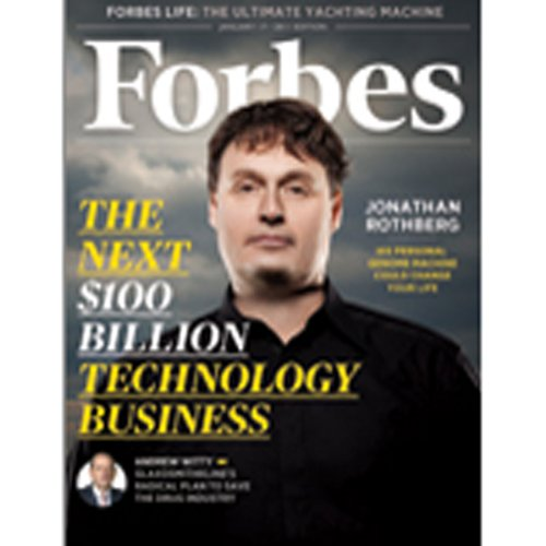 Forbes, January 03, 2011 cover art