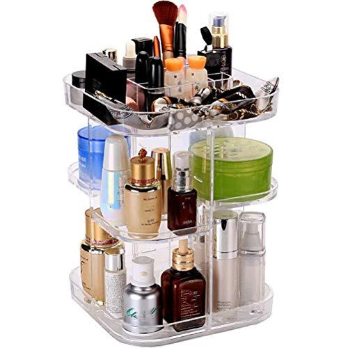 DIAOSI Shounada transparante decoratieve plastic houder met lippenstift voor cosmetica