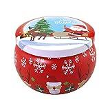 Juego de velas aromáticas Marlon Nancy de cera de soja natural, velas sin humo con lata de viaje portátil para regalos de cumpleaños de Navidad (bayas de lobo chino y sangre de taroco)