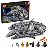 falcon 1000 - LEGO Star Wars: The Rise of Skywalker Millennium Falcon 75257 Starship Model Building Kit and Minifigures (1,351 Pieces)
