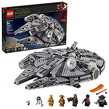 LEGO Star Wars  The Rise of Skywalker Millennium Falcon 75257 Starship Model Building Kit and Minifigures  1,351 Pieces