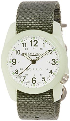 Bertucci 11028 - Orologio da polso, cinturino in nylon colore verde