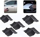 Family Made Company (5 pcs) Nano Magic Cloth, car Scratch Repair Cloth, car Paint Scratch Repair kit, Surface Repair/Scratch Repair/Light Paint Scratch Remover Scratch Free Paint dent Repair kit