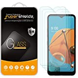 (3 Pack) Supershieldz for LG K51 Tempered Glass Screen Protector, Anti Scratch, Bubble Free