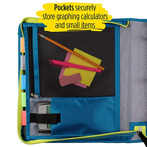 Five Star Zipper Binder, 2 Inch 3 Ring Binder, Expansion Panel, Durable, Color Selected For You, 1 Count (29052) Photo #6