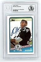 Bo Jackson 1988 Topps Autograph Rookie Card #327 - BAS