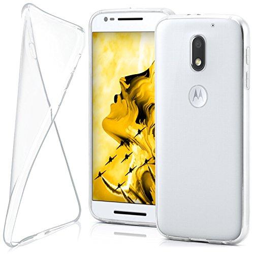 MoEx® AERO Hülle Transparente Handyhülle kompatibel mit Motorola Moto E3   Hülle Silikon Dünn - Handy Schutzhülle, Durchsichtig Klar