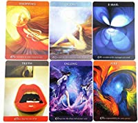 HEZHANG 娯楽、夢のオラクルカードタロット、タロットカード神秘的な占星術占星術板ゲームのためのタロットデッキカード