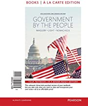 Government by the People, 2014 Elections and Updates Edition, Books A La Carte Plus NEW MyPoliSciLab for American Government -- Access Card Package (25th Edition)