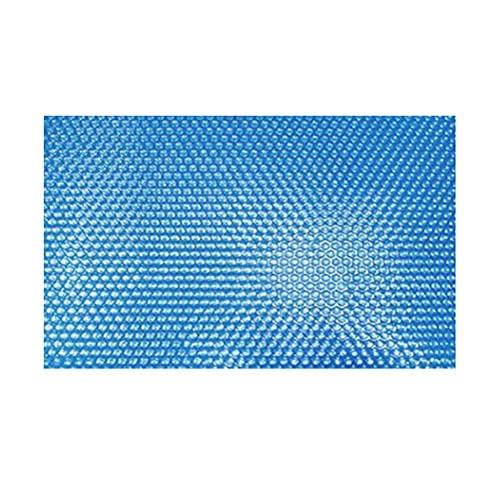 Cubierta de piscina a prueba de polvo, plegable, rectangular, cubierta solar, cubierta para aislamiento de piscina, película impermeable, cubierta de burbujas, 260 x 160 cm