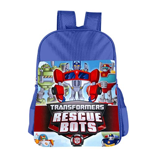 Jigbais Preschool Backpack for Boys Tra-NSF-Orme-rs Res-cUE Bo-TS Girls Toddler School Bag Kids Bookbag for Kindergarten Elementary School
