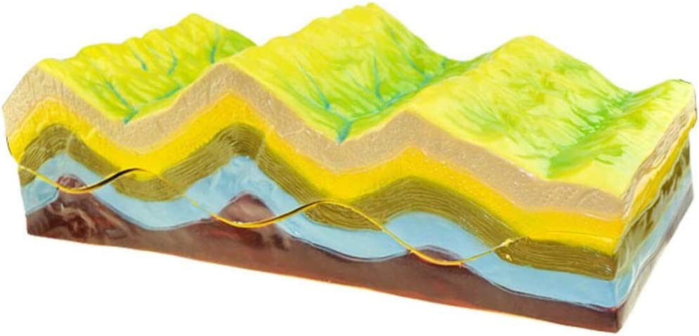 ALBB online shopping Geographic Model Fold Structure Geomorphological Ev Very popular and Its