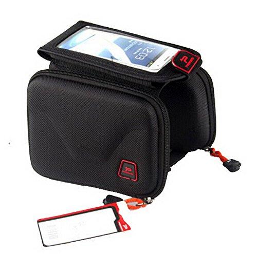 Selles Pack - Tube Avant package avec un sac téléphone portable - Noir