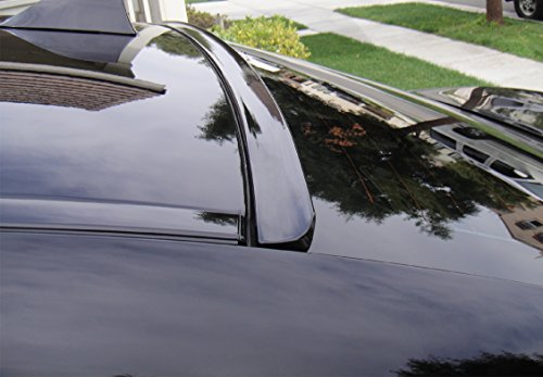 JR2 Painted Black Color Fit 2012 2013 2014 2015 2016 2017 Cadillac ATS Sedan 4D Rear Window Roof Spoiler