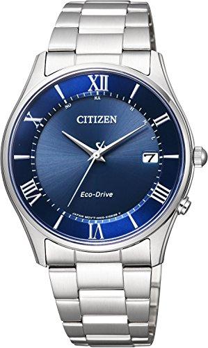 CITIZEN Reloj Colección Pull Ajustar Eco Drive Solar Radio Control Reloj Thin AS1060-54L Hombre