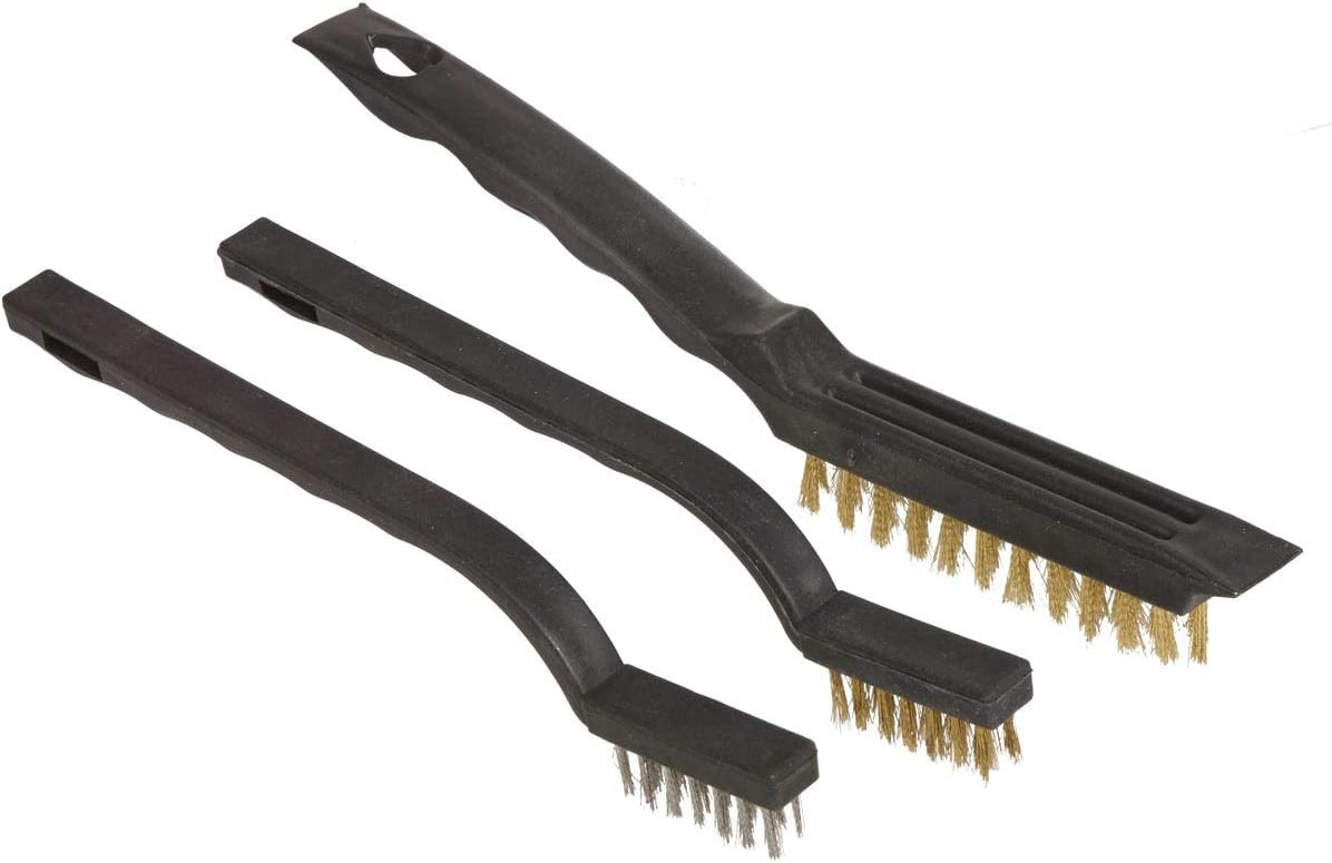 GreatNeck A surprise price is realized Save money BS3W 3 Piece Set Wire Brush