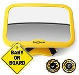 Royal Rascals - Espejo ajustable para el reposacabezas (para asiento de niño...