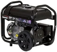 Powermate PM0126000R 6,000 Watt 414cc Gas Portable Generator (Renewed)