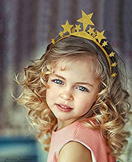 Generic Gold Glitter Birthday Party Hat, Child/Kids and Adult Party Hats, Party Decorations Crown Supplies, Small